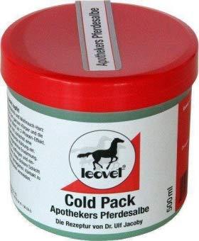 Leovet Cold Pack Apothekers Pferdesalbe, 1000 ml Pack Auto-gele
