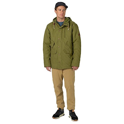 Burton Herren Sherman Jacket Jacke Olive Branch