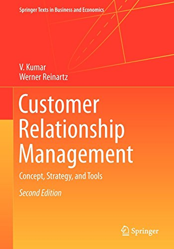 Download free customer relationship management second edition customer relationship management concept strategy and tools springer texts in business and economics kindle edition by v kumar werner reinartz download fandeluxe Image collections