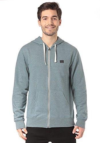 BILLABONG Herren Alle Tag Zip Fashion Fleece Jacke L Hydro Heather Hydro Zip Hoodie
