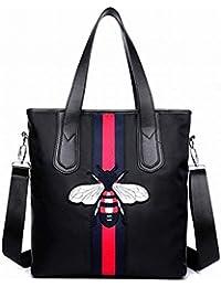 0d5ca255e6dfd Eeayyygch Handtasche Frauen Mode Damen Wasserdicht Oxford Tuch Kleinen  Bienen Rucksack Schräge Kreuz Umhängetasche