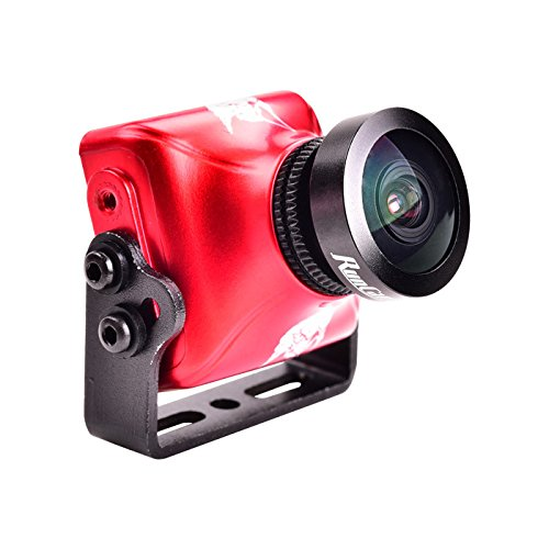 RunCam Eagle 2 FPV Mini Kamera 800TVL 4: 3 CMOS 2.5mm FOV OSD Pal/NTSC Umschaltbar für QAV Drone Quadcopter (Mini-board-kamera)