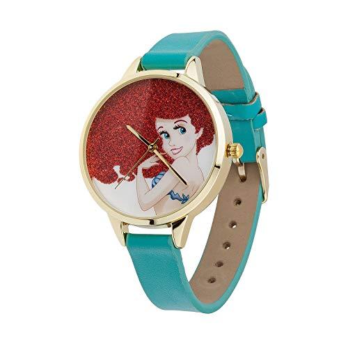 Disney Arielle Armband Uhr Analog in Geschenkbox türkis