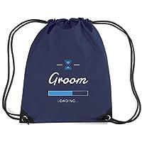 T-Shirtshock - Zaino Zainetto Budget Gymsac MAT0036 Groom loading Maglietta
