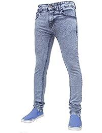 True Face - Herren Jeans Dehnbar Hauteng Reißverschluss Hosenschlitz  Baumwolle Hose - 34WX34,… 47127f1884