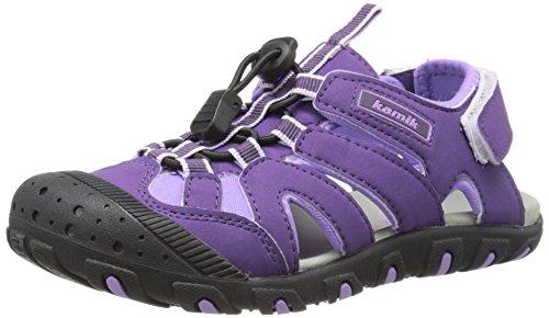 kamik Oyster Sandale Kleinkinder Trekking-Sandalen Sandaletten Lila HK9160 PUR, Größenauswahl:27