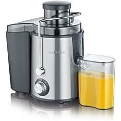 Severin ES 3566 Centrifuga Professionale Inox, BPA Free, Motore Silenzioso