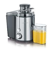Idea Regalo - Severin ES 3566 Centrifuga Professionale Inox, BPA Free, Motore Silenzioso, contenitore di 0.5 litri