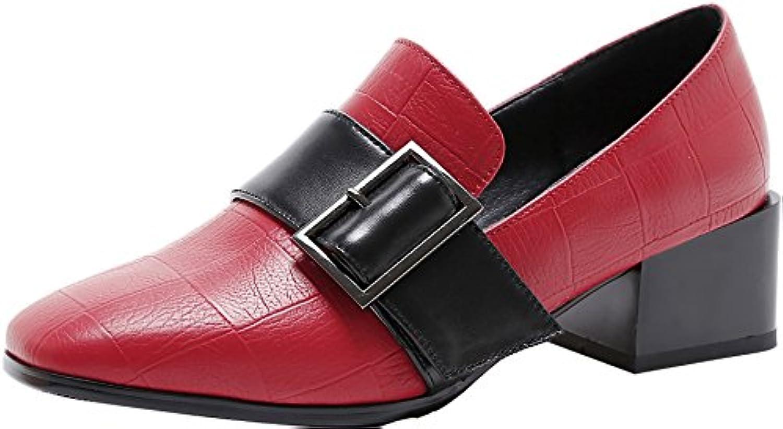 Vaneel Donna vpnnp 4.5CM Tacco Tacco Tacco A Blocco Scivolare Su Scarpe col tacco Calzature | una grande varietà  65487a