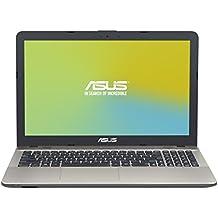 "ASUS D541SA-XO271D - Portátil de 15.6""  HD (Intel Celeron N3060 , RAM de 4 GB, 500 GB HDD, Intel HD Graphics 400, sin Sistema Operativo) negro chocolate - Teclado QWERTY Español"