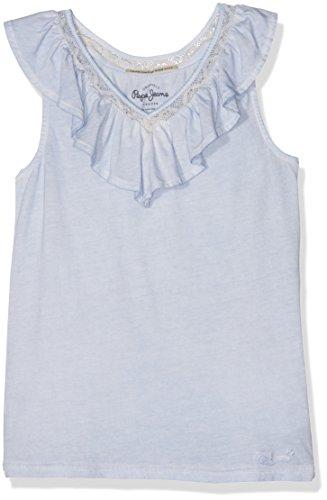 pepe-jeans-celia-jr-camiseta-sin-mangas-ninos-azul-bleach-blue-12-anos-talla-del-fabricante-12