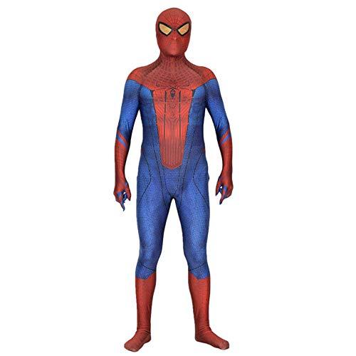 ASJUNQ Bürgerkrieg Spinne All Inclusive Strumpfhosen Erwachsenen Kostüm Cosplay Kleid Erwachsene Party Movie Requisiten Zentai Kostüm,Red-XXXL