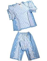 Sharplace 1 Traje de Algodón Ropa de Paciente de Enfermería Pijamas de Hospital