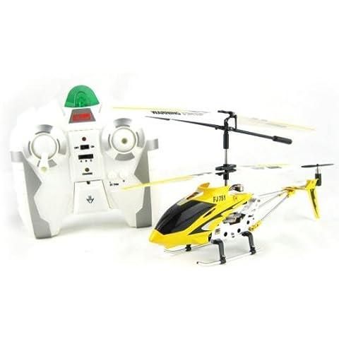Elicottero controllato di stabilizzazione dell'alluminio I/R USB