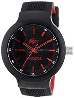 Reloj Lacoste 2010660 de cuarzo para hombre con correa de silicona, color negro de Lacoste