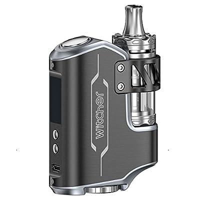 Electronic Cigarette TC Vape Box Mod Rofvape Witcher 75W E Cigarette Starter Kit E Shisha Vape Kit All-in-One 510 Thread Ecig Kits by Witcher