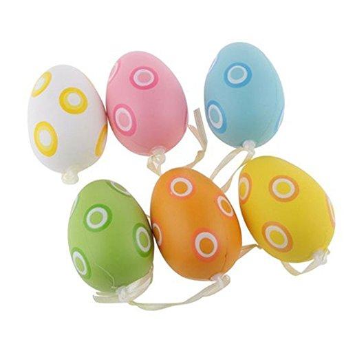 trixes-6-pz-uova-di-pasqua-a-pois-in-colori-assortiti-da-appendere-nastro-decorativo-grazioso-ninnol