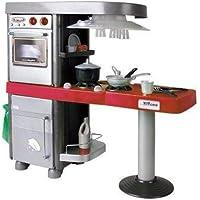 Coloma Y Pastor18-9058001 - Cocina 4 Modulos C/ Luz Color Rojo Y 32 piezas . 83 X 36 X 92 cm