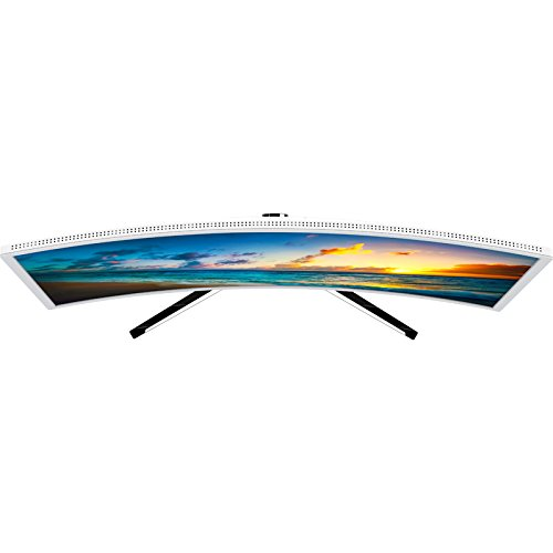 HKC NB27C 27 inch Curved LED Monitor extensive HD 1920x1080 HDMI VGA Flicker Free Low Blue light white Monitors