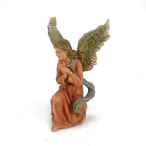 YoJu Home Deko Dekoration Schlafzimmer Figurineharz Handwerk Europäische Religiöse Krippe Dekoration Engel Figur Skulptur Christliche Heimat Harz Größe: 9 * 9,5 * 14,5 cm, 9 * * 14,5 cm 9,5
