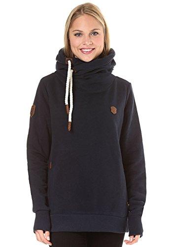 Naketano Damen Sweatshirt Eis (298) S