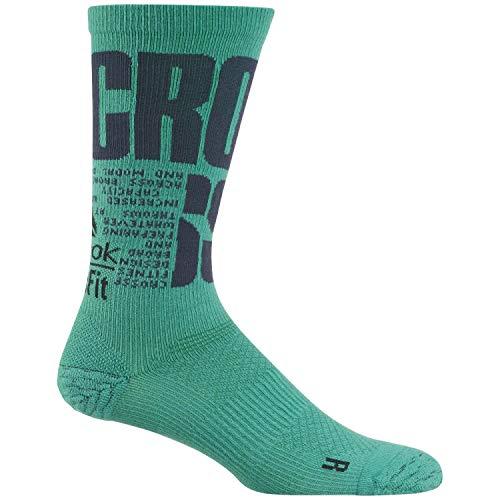 Reebok Crossfit Unisex Socken Engineered Crew Sock Emerald 46-48