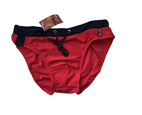 Costume Boxer Uomo Milan Prodotto Ufficiale Lycra Mare Piscina