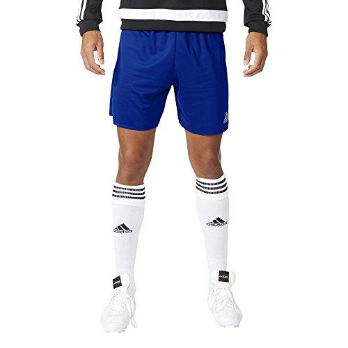 Adidas Gym Shorts (adidas Herren Shorts Parma 16 SHO, Blau/Weiß, 164, 4056561968958)