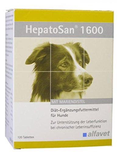 Nur Eine 30 Tabletten (HepatoSan 1600 Zur Unterstützung der Leberfunktion bei chronischer Leberinsuffizienz)