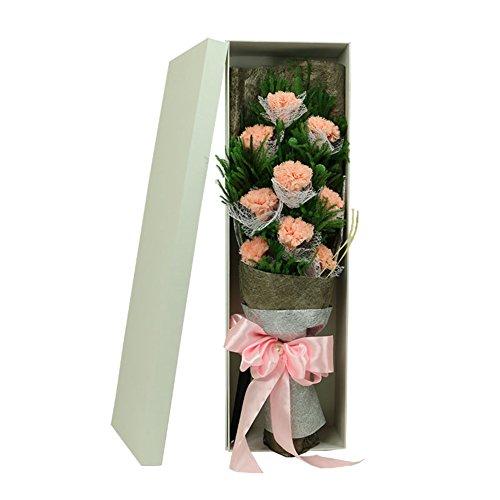 -box/Nelke Hand Strauß Rosen/Valentine-D ()