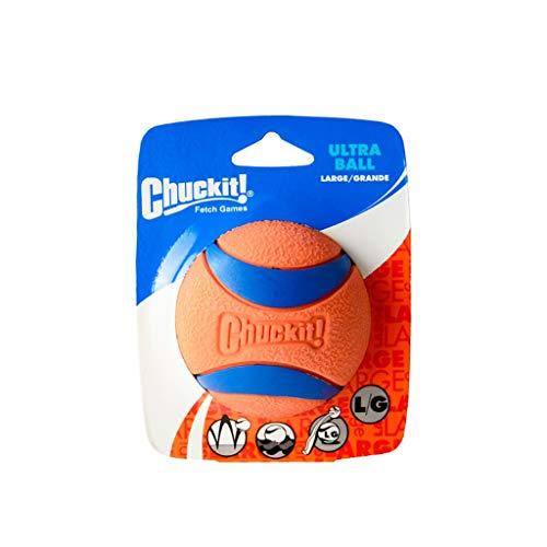 QYSZYG Pet Spielzeug Haustier Fußball Biss-resistente Haustier Hund Spielzeug Ball groß, Kleiner Hund Training Hund Fußball Spielzeug für Haustiere (Farbe : Orange, größe : A-7.6CM)