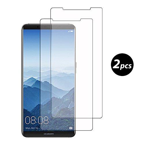 Preisvergleich Produktbild (2 Pack)Huawei Mate 10 Pro Panzerglas - EUGO 9H Gehärtetem Glas Schutzfolie Displayschutzfolie Panzerglas für Huawei Mate 10 Pro