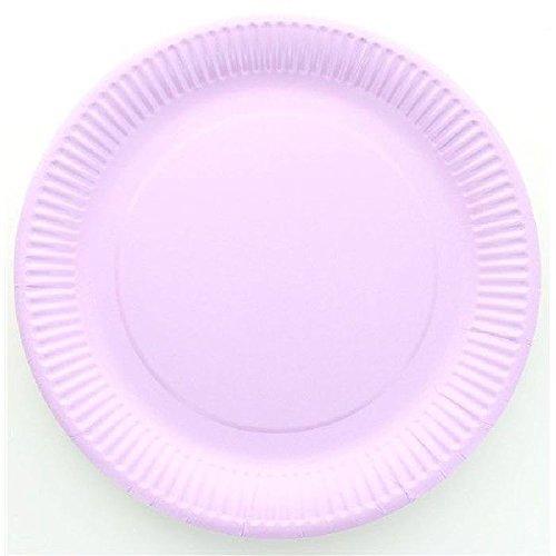 Assiette jetable X10 - Parme