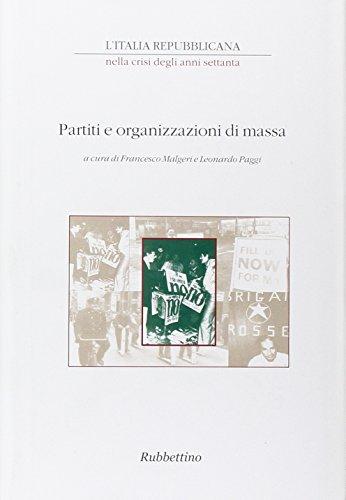 L'Italia repubblicana nella crisi degli anni Settanta. Atti del ciclo di Convegni (Roma, novembre-dicembre 2001): 3 (Saggi)