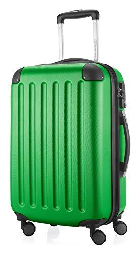 HAUPTSTADTKOFFER Spree - Handgepäck Hartschalen-Koffer Trolley Rollkoffer Reisekoffer, TSA, Bagaglio a mano, 55 cm, 49 liters, Verde (Grün)