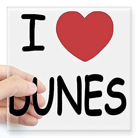CafePress - DUNES Square Sticker 3