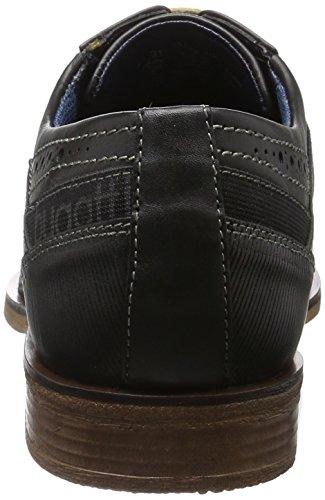 Bugatti 311251021000, Chaussures À Lacets Pour Homme Noir (schwarz 1000)