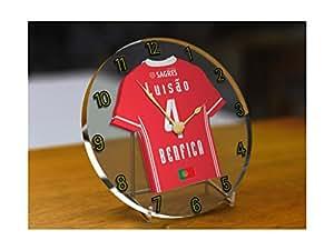 Benfica–Horloge personnalisée en acrylique