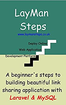 beginner's step to building simple link sharing web app