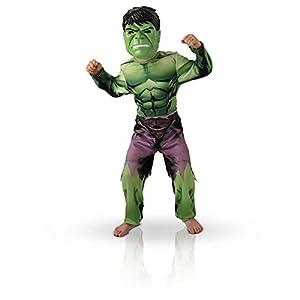Marvel - I-888911s - Disfraces clásicos para niños - Hulk Vengadores - Tamaño S