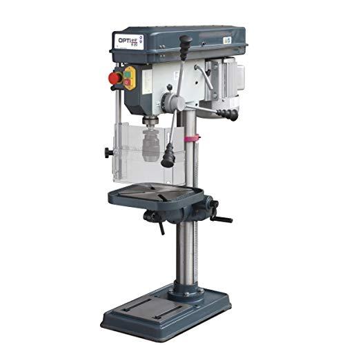Stürmer Optimum 3008203SET Tischbohrmaschine OPTIdrill B 20 (400 V) (Keilriemenantrieb, Bohrtisch neigbar und drehbar)