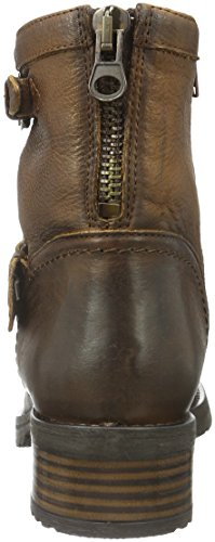 Buffalo London Damen Es 30493l Mexico Suede Biker Boots Braun (Brandy 07)