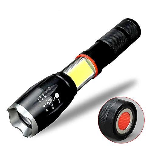 Windfire leistungsstarke led taschenlampe handheld taktische taschenlampe hohe lumen tragbare beleuchtung 6modi COB arbeitslicht Wasser beständig taschenlampen magnet für Camping Notfall