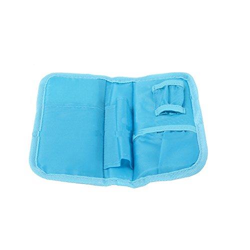 diabetici Custodia Borsa frigo per diabete siringhe insulina iniezione e medicinali borsa e 2Pz Borsa frigo per insulina marrone Blau