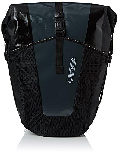 Ortlieb –Alforja Trasera Unisex Roller Pro Classic, Par, Bolsa de Bicicleta, Color Asphalt/Schwarz, tamaño Talla única, Volumen Liters 70.0