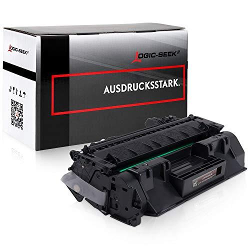 Logic-Seek Toner kompatibel zu HP CE505A 505A Laserjet P2035 2033 2034 2036 2037 N 2053 2054 2055 2056 2057 D DN X (P2035 Drucker Laserjet)