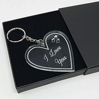 I love you Valentine's Day keyring