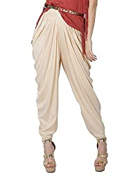 Cream-Ladies Dhoti