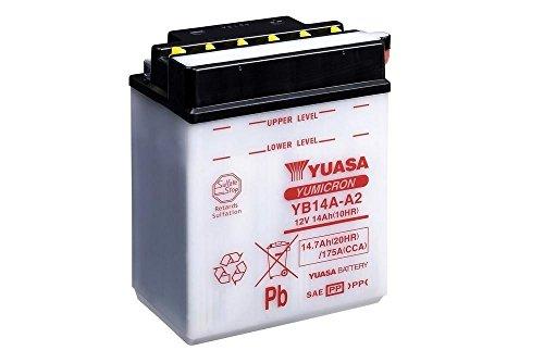 Batteria YUASA yb14a A2, 12V/14ah (dimensioni: 136X 91X 178) per Polaris Sportsman 500EFI anno 2007