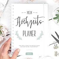 Hochzeitsplaner: So feierst du deine Traumhochzeit, 250 Seiten Hochzeitsplaner Buch, Deutsch, Wedding Planner, Checklisten Notizen Ideen für Hochzeit, Hochzeitsfeier planen organisieren